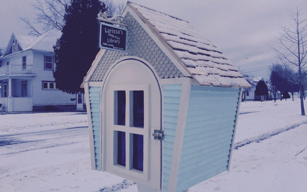 LITTLE FREE LIBRARY – A X-MAS GIFT