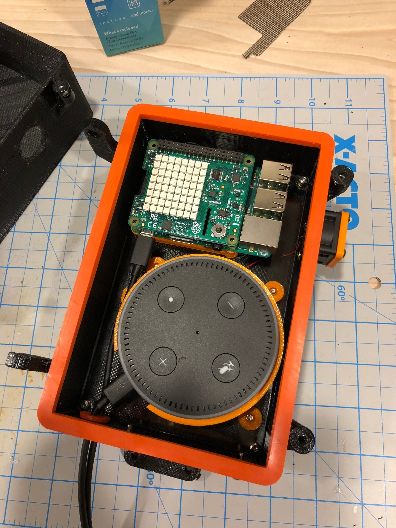 Raspberry Pi Weather Station / Echo Dot Outdoor Enclosure - Advanced
